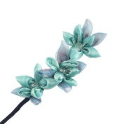 Crystalmood Flexy Hair Styler Floral Up-do Stick 3-Flower