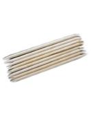 WAWO 150pcs Nail Art Orange Wood Sticks Cuticle Pusher Remover Manicure Pedicure Tool 120mm