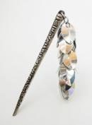 Cascading Silver Hair Stick