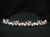 Ruby Red Tiara headband