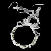 Kate Middleton Inspired Flower Girl Wreath Wedding Headband