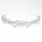 . Rhinestone Floral Pattern Wedding Bridal Bridesmaids Headband Prom New