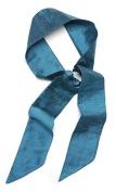 L. Erickson USA Elastic Loop Headband - 100% Silk Dupioni