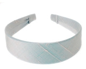 L. Erickson USA 3.8cm Headband 100% Silk Dupioni