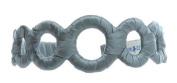 L. Erickson USA 100% Silk Charmeuse Wrapped Circles Headband