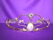 Gold Pearl Tiara