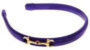 L. Erickson USA Small Bit Headband - Silk Charmeuse