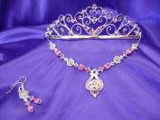 Pink Princess Tiara D'Italia Set