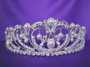 Silver Princess Pearl Tiara