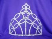 Rhinestone Pageant Large Tiara