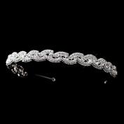 Zoraya Rhinestone Swirl Wedding Bridal Tiara Headband