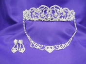 Princess Diana Spencer Tiara Necklace Set