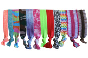 Elastic Hair Ties Set of 12