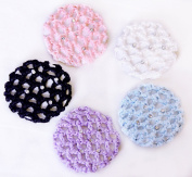 Small Dance & Fashion Rhinestone Bun cover / holder 4 Colour Choices