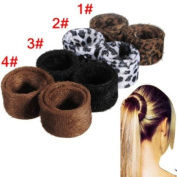 Pony Tail Bun Lint Hair Spiral Bun Hair Accessories
