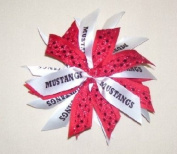 Ultimate Scrunchie - Mustangs & Red Sequin - 42 available