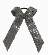 Metallic Bow Scrunch