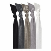 Emi-Jay Hair Tie Collection - Black Ombre 5 pack
