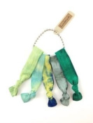 Elastic Hair Tie & Bracelet in One Tie Dye FOREST colour 5PC