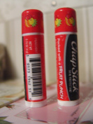"Chapstick Brand Lip Balm [Skin Protectant],""Packed with a FRUIT PUNCH"" Set of 2 tubes"