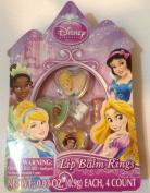 Disney Princess Lip Balm Rings