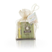 Moon Valley Organics Gift Set with Lip Balm, Moon Melt Lotion Bar, and Oatmeal Sage Body Bar