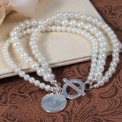 Exclusive Gifts and Favours-Ivory Elegance Bracelet By Cathy Concepts