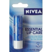 Nivea Essential Lip Care Long Term Moisturiser 3pack