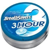 Hershey Breath Savers 3-Hour Peppermint - 35ml, 8 ea