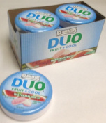 Ice Breakers Duo Fruit + Cool Watermelon Flavour Sugar Free Mints 8 - 40ml Tins