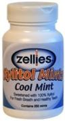ZELLIES XYLITOL MINTS COOL MINT - 1 bottle of 250 mints
