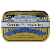 Grether's Sugarless Black Currant Pastilles 440ml pastilles