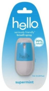Hello Breath Spray, Supermint, 7 ml