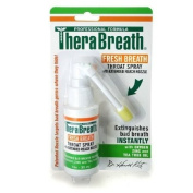 TheraBreath Fresh Breath Throat Spray with Oxygen, Zinc and Tea Tree Oil 30ml