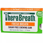 TheraBreath Chewing Gum Box