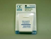 Quality Choice DENTAL FLOSS WAXED 100 YDS 1EA