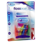 Endekay Floss Brush Trial Pack 6