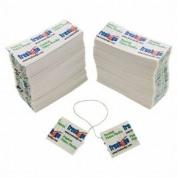 500 Pocket Dental Floss Packs Individually Wrapped Single Use Travel Waxed Mint