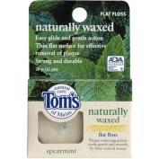 Tom's of Maine Spearmint Antiplaque Flat Floss-32, ct