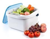 12.8L Home Use Ultrasonic Ozone Vegetable Fruit Steriliser Cleaner Washer Health