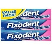 Fixodent Fixodent Denture Adhesive Cream Original