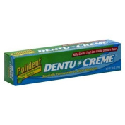 Polident Dentu Crème Denture Cleanser Paste, Triple Mint, 120ml