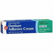 Walgreens Denture Cream Fresh, Fresh Mint, 70ml