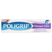 Poli-Grip Flavour Free Denture Fixative Cream Ultra Hold & Neutral Tasting 40g