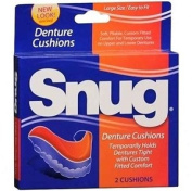 Snug Denture Cushions - 2 ea by Mentholatum