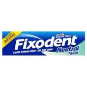 Fixodent Neutral Denture Adhesive Cream