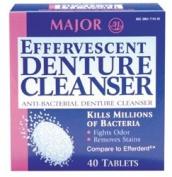 Effervescent Denture Cleanser. Efferdent®)
