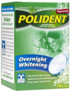 POLIDENT TAB OVERNIGHT 78Tablets