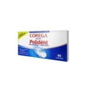 Polident Corega Anti-Bacterial - Anti-Tartar 96 Tablets