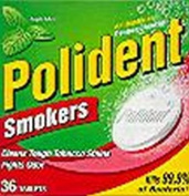 Polident Smoker's Tablets 36-Count